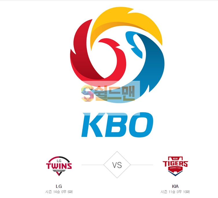 2020년 5월 29일 KBO리그 LG vs KIA 분석 및 쉴드맨 추천픽